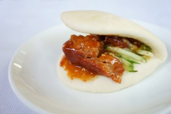 Taiwanese pork belly bun