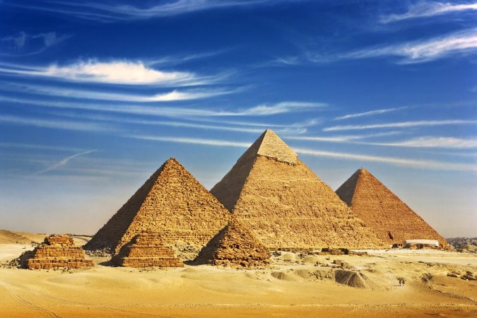 Oh wait! There is an eighth position? Yes! The Great Pyramid of Giza