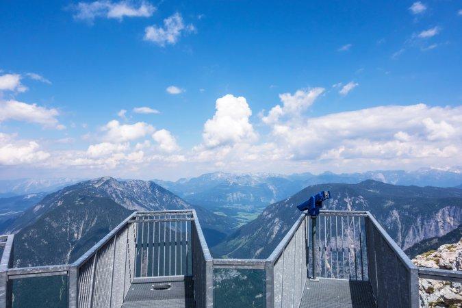 Five Fingers in the Alps, Austria