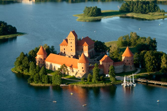 Castillo Trakai, Lituania