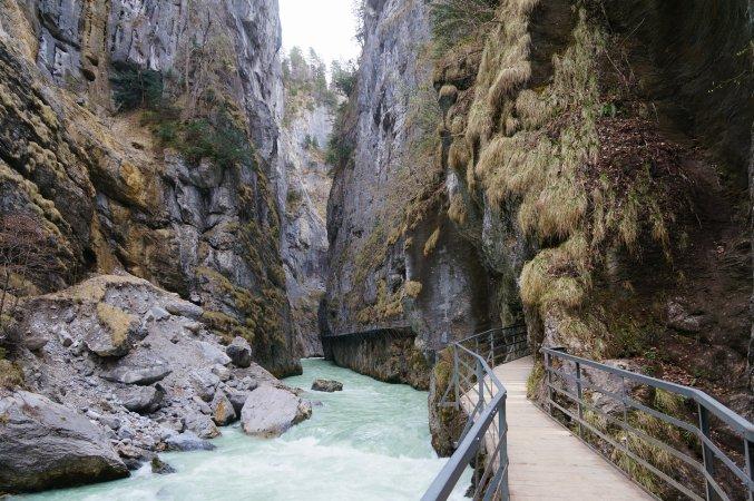 Garganta del Aare, Suiza