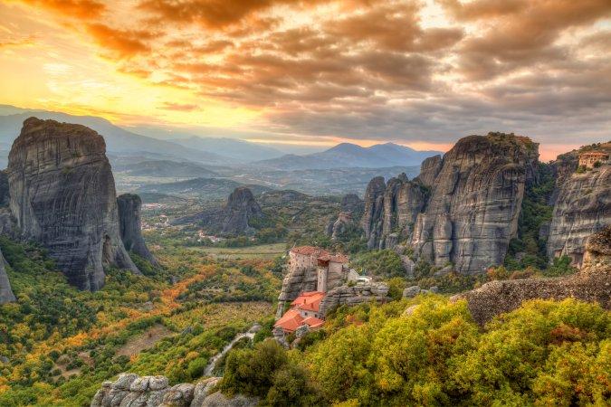 Monasterios de Meteora, Grecia