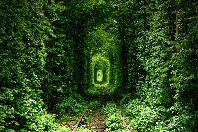 Túnel del amor, Kevian, Ucraina