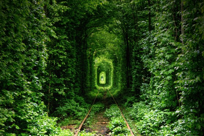 Tunnel of love, Kevian, Ukraine