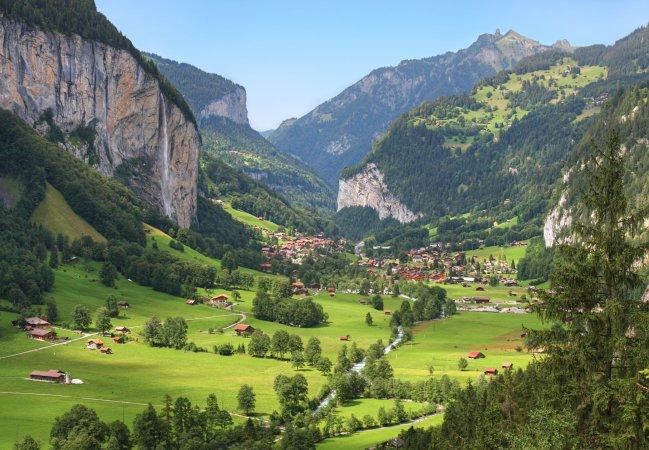 Valle de Lauterbrunnen , Suiza