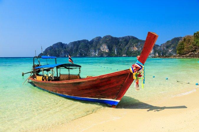 Long Beach, Koh Phi Phi, Tailandia