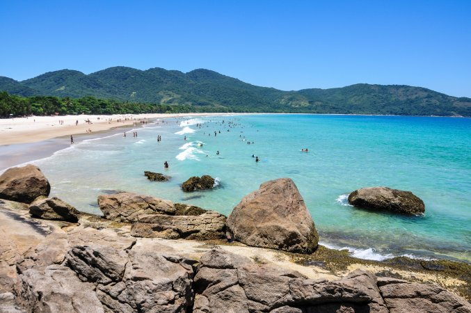 Playa Lopes Mendes, Isla Grande, Brasil