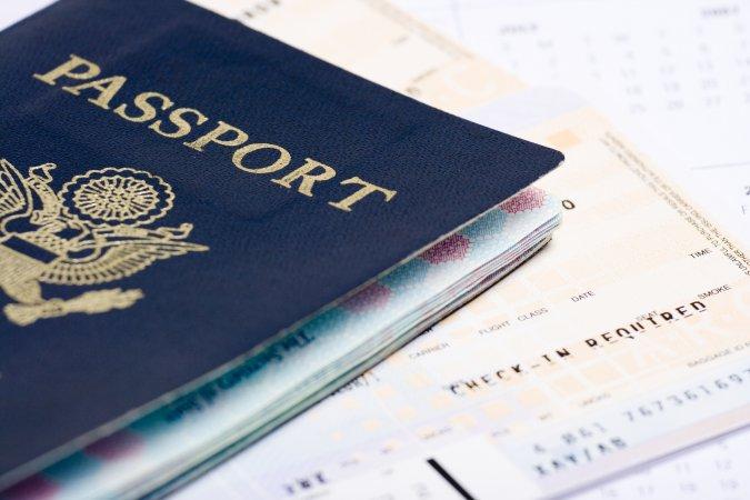 Passport or identification document