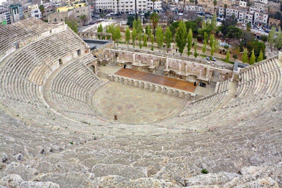 Anfiteatro romano de Amán