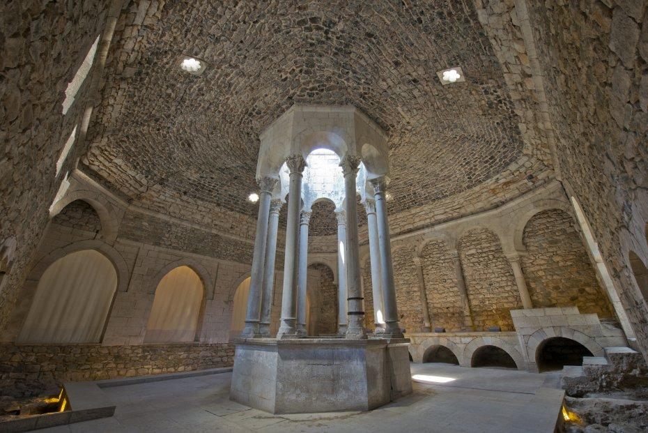 Girona ba os rabes de girona - Banos arabes de girona ...