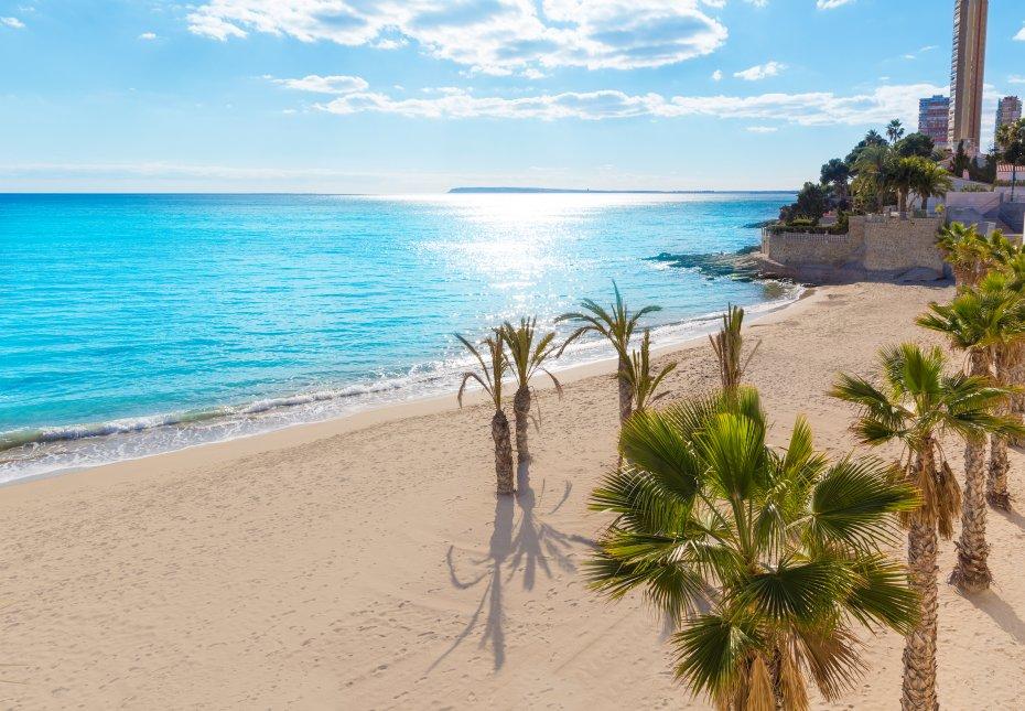 Resultado de imagen de Playas alicante