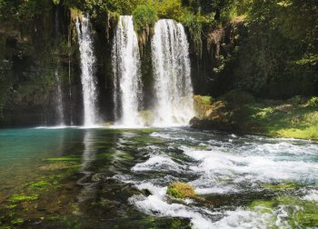 Duden, Manavgat and Kursunlu Waterfalls