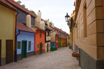 Golden Lane and Prague Castle