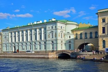 Neva river and canals