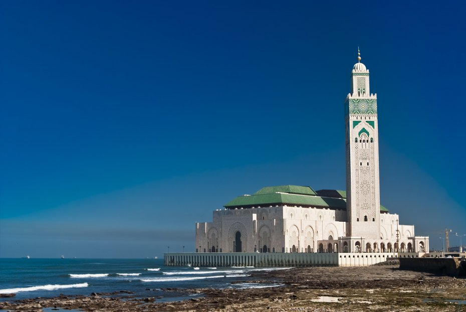 Image result for Hassan II Mosque