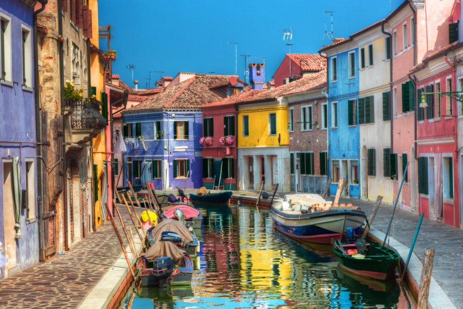 Venice Burano And Murano Islands