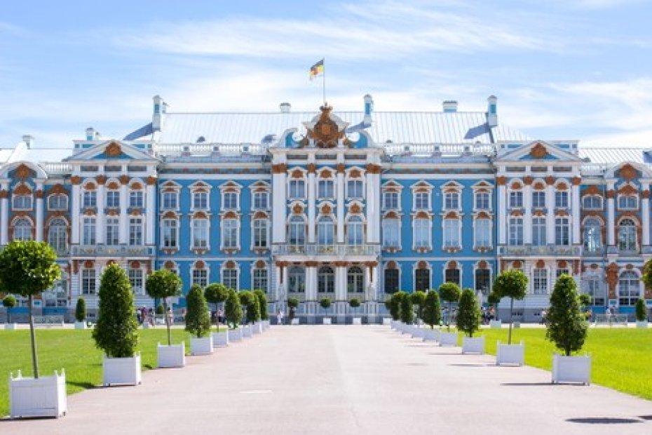 San Petersburgo - Palacio de Catalina la Grande