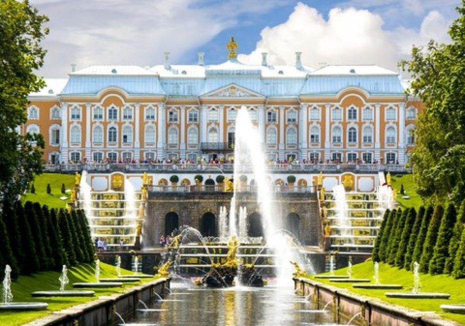 San Petersburgo - Palacio Peterhof
